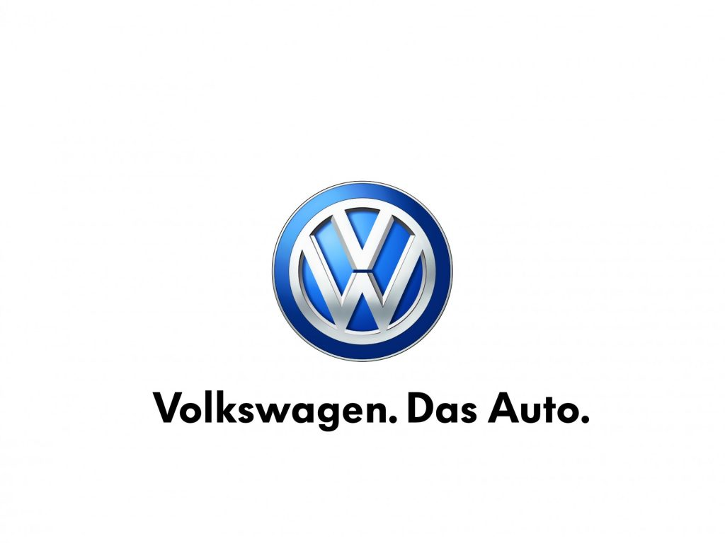 Volkswagen Logo with tag line - Size XL CS3