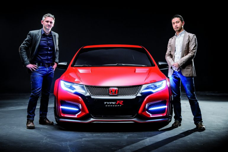Paris Motor Show 2014 Honda Civic Type R And The Type R History