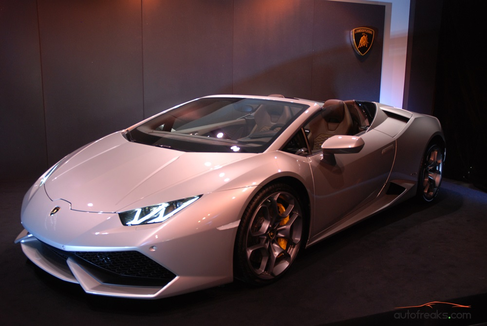 lamborghini hurac n lp 610 4 spyder arrives in malaysia video autofreak. Black Bedroom Furniture Sets. Home Design Ideas