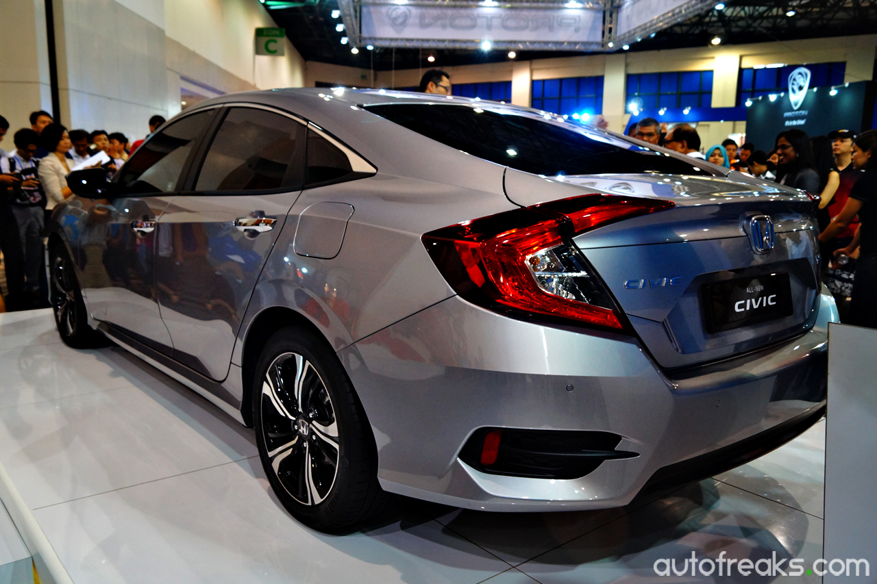 2016 My Auto Fest: 2016 Honda Civic unveiled!Autofreaks.com ...
