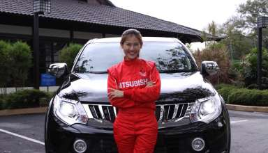 Leona Chin- Malaysian Professional Motorsports Athlete, proud owner of the fifth generation Triton VGT Adventure
