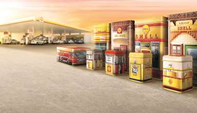 Limited Edition Shell Heritage Canisters
