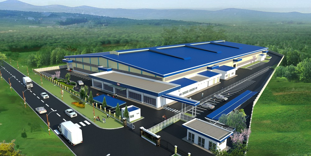 Artist Impression New Factory at Kulim